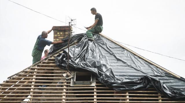 Jelentős viharkár bejelentések érkeztek a biztosítókhoz