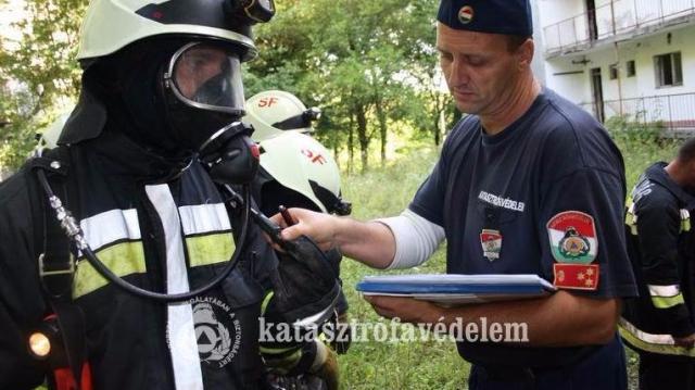 Egyre rutinosabbak a somogyi tűzoltók