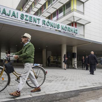 Kétmillió forintot nyert a Családbarát Munkahely-pályázaton a Szent Rókus Kórház