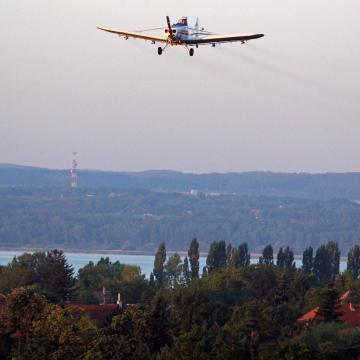 Mohács térségében, a Balatonon, és a Dráva mentén folytatódik a szúnyoggyérítés