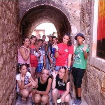Az Adrián táboroztak a ceglédi diákok