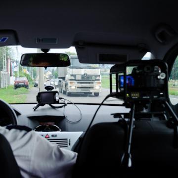 Sebességmérő akció az utakon