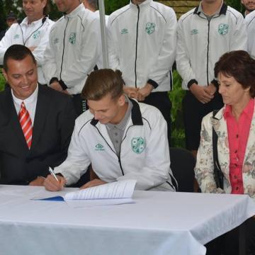 Több milliós támogatás a kaposvári labdarúgásnak