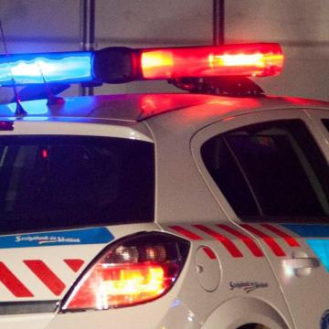 Megpróbált elbújni az esztergomi tolvaj a rendőrök elől