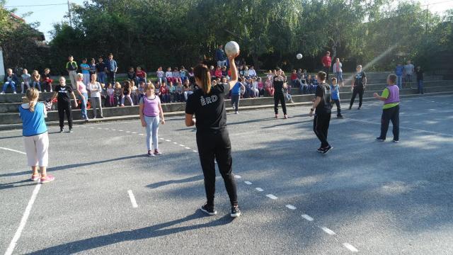 ÉRD–diák meccs az Európai Diáksport Napján