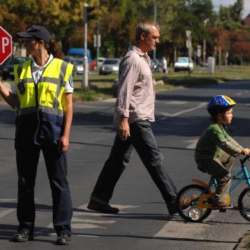 Jól működik az iskolarendőr program Barcson és környékén