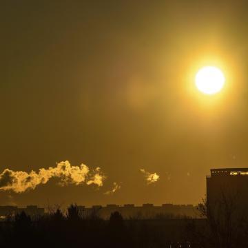 Romlik a levegő minősége a napokban