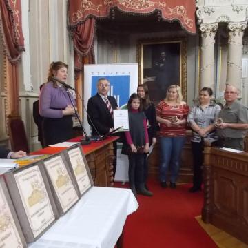 Elismerték a Virágos Szegedért tett erőfeszítéseket