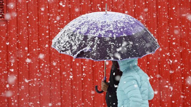 Megyénkben már havazik