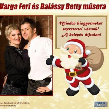 Varga Ferivel és Balássy Bettivel jön a csornai Mikulás