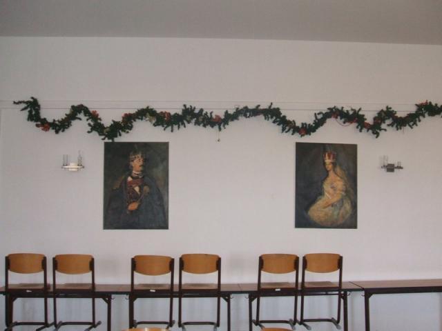 Adventi készülődés az esztergomi Balassában