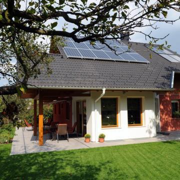 Nulla energiaigényű ház építésére is pályáztak