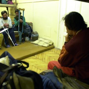 Hajléktalanok - Tovább nőtt az éjjeli menedékhelyek kihasználtsága
