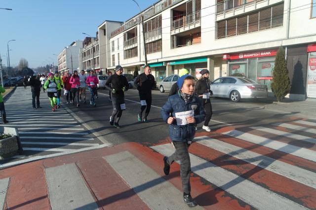 Szívbeteg gyerekekért futottak
