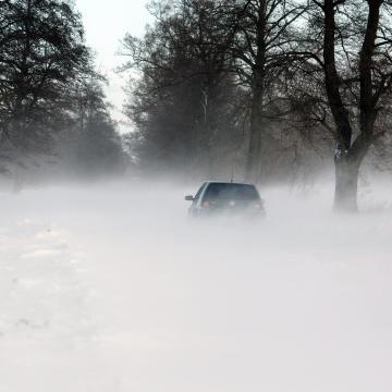 Extrém hideg mellett még viharos szél és hófúvás is lesz
