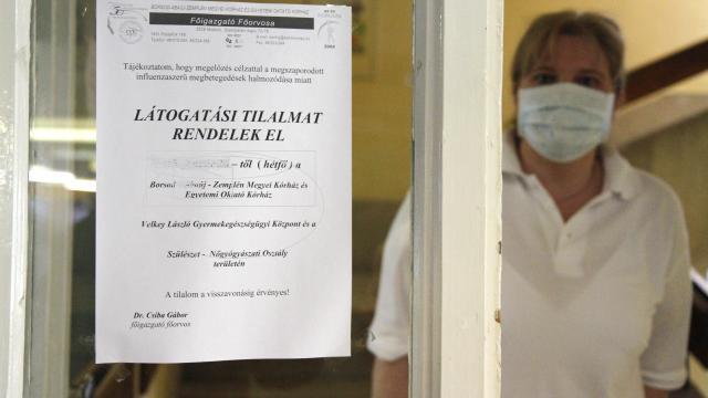 Influenza - Több kórházban tilos a látogatás