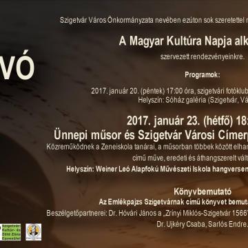 Szigetvár is ünnepel a magyar kultúra napján