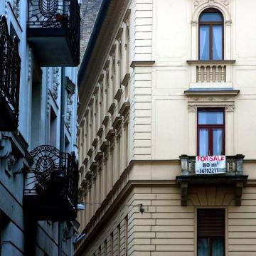 Folytatódott az áremelkedés a lakáspiacon tavaly az év első három negyedévében