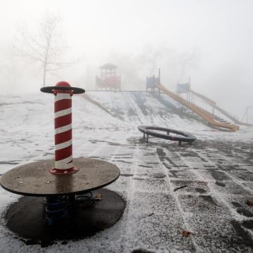 Tizenhat megyére adtak ki figyelmeztetést a köd miatt