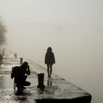 Tizennégy megyére adtak ki figyelmeztetést köd miatt