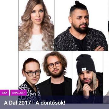 A Dal 2017 - Szombaton lesz a döntő