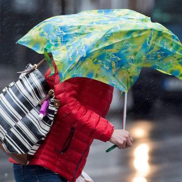 Eső, szél, tavaszias meleg és havazás is lesz a héten