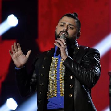 Magyarságát szeretné hangsúlyozni Pápai Joci az Eurovíziós Dalfesztiválon