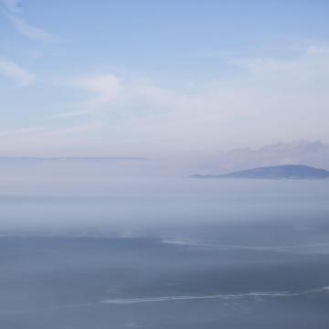 Még tartja magát a Balaton jege