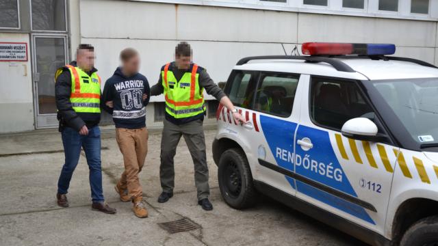 Szentesi besurranókat fogtak el a rendőrök