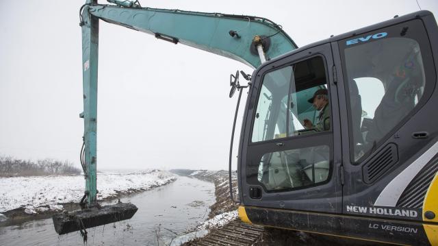 Lefújták az árvízi készültséget  - elhagyta a jég a folyókat, apad a belvíz