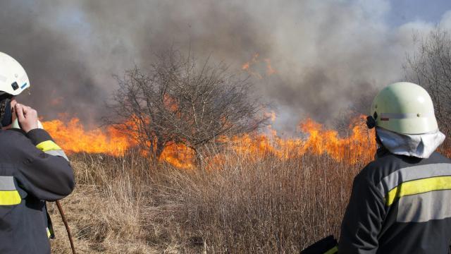 Emelkedik a szabadtéri tüzek száma
