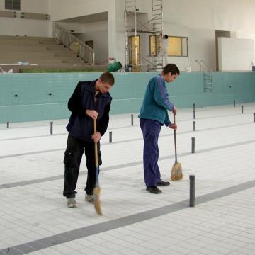 A MÚSZ támogatja a gyulai uszoda megépítését