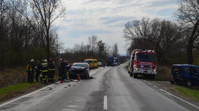 Az elmúlt 24 órában történt balesetek