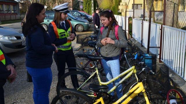 Közlekedésbiztonsági napot tartottak Marcaliban