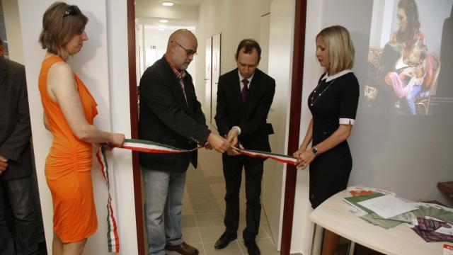 Új közösségi házat adtak át Pécs keleti városrészében