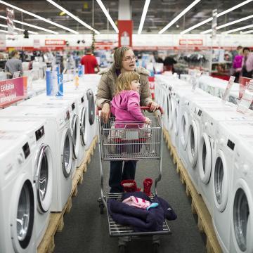 Fontosnak tartják az energiahatékonyságot a háztartási gépek vásárlói