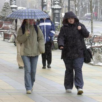 Több megyére másodfokú figyelmeztetést adtak ki a szél és az eső miatt
