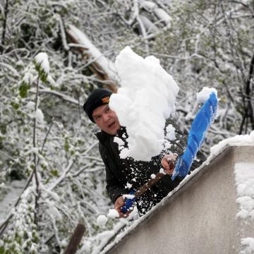 Újabb hidegrekordok  - A János-hegyen -36 C volt, Lillafüred-Jávorkúton 50 centis hó