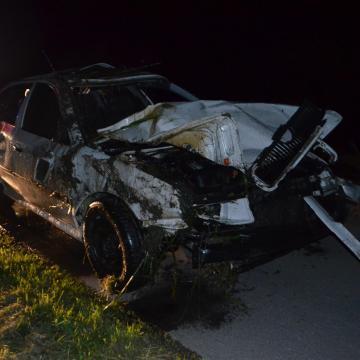 Komoly baleset történt hétfőn Sellye határában