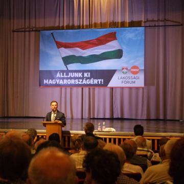 Álljunk ki Magyarországért – Fórum Érden