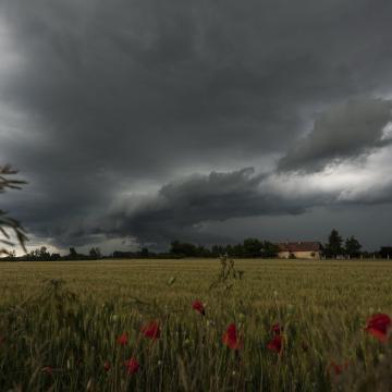 Riasztások zivatarok, szél és felhőszakadás miatt