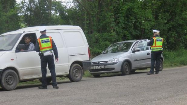 Átfogó rendőrségi akció az utakon a hétvégén
