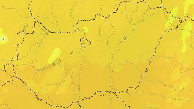 Meteorológiai szolgálat: hétfőn nagyon erős UV-B sugárzás várható
