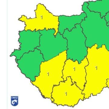 Somogy megyében rendkívüli melegre figyelmeztet az OMSZ