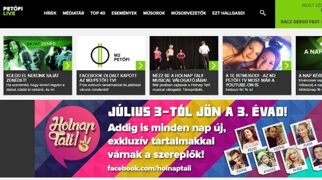 A Te Ritmusod! - az M2 Petőfi TV most már a YouTube-on is