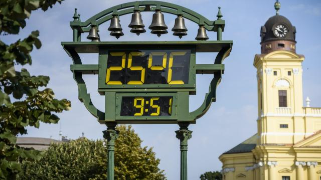 Napsütéses, meleg nyári idő várható a héten