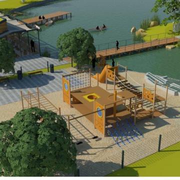 Hamarosan kezdődik a tavas szabadidőpark építkezése