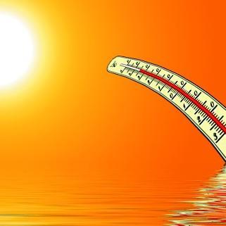 Két megyében már harmadfokú a hőségriasztás