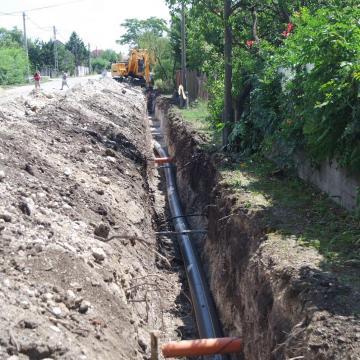 Elkezdődött a 16 milliárdos út- és vízelvezetés-fejlesztés Érden