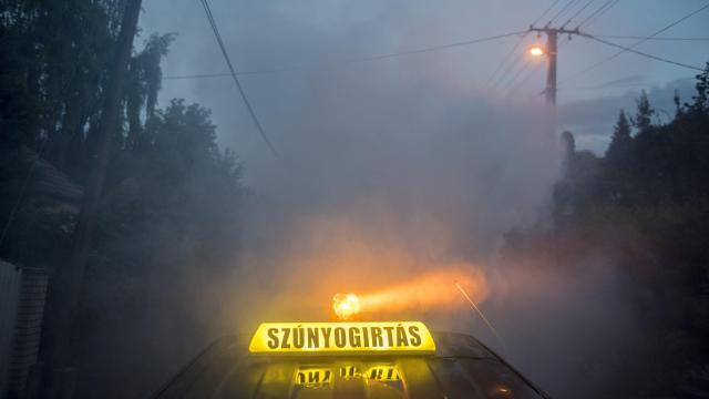 Több mint száz településen folytatódik a szúnyogirtás